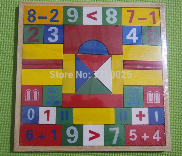 de Madera de Matem Ticas de Juguetes Educativos Juego Puzzle Teachi