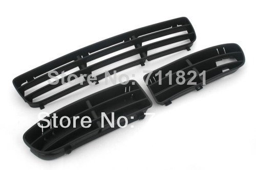 Front Bumper Complete Air Vent & Cooling Grille Inserts For Volkswagen For VW Jetta / Bora MK4(China (Mainland))