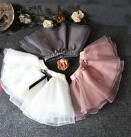 wholesale(5pcs/lot)-spring mesh skirt for 2-7 child girl
