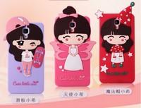 2015 New Xiaomi Mi4 Case,Fashion 3D Cartoon Silicone Protective Back Case Cover shell For Xiaomi 4 mi4 m4 +2 Screen Protector