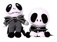 "Hot Sell High Quality 2015 New Jack Plush Toys 20cm/8"" Pocoyo Doll The Nightmare Before Christmas Bonecas 2Pcs/lot Free Shipping"