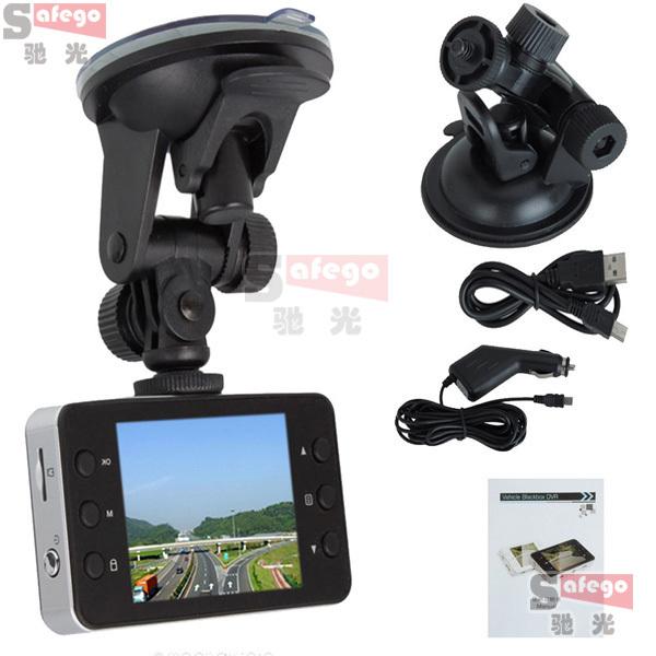 1 set Car dvrs novatek k6000 920X1080P+2.7 Full HD+G-sensor+night vision+140 wide angel car camera on sale(China (Mainland))