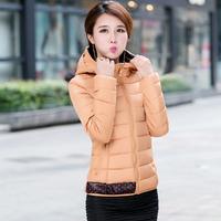 2014 down coat female slim all-match