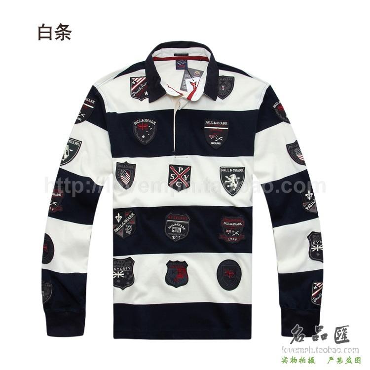 Italian Fashion Brands Men 39 s Fashion Stripe Long Sleeve t Shirt Shark Italian Men 39 s Wear Brand