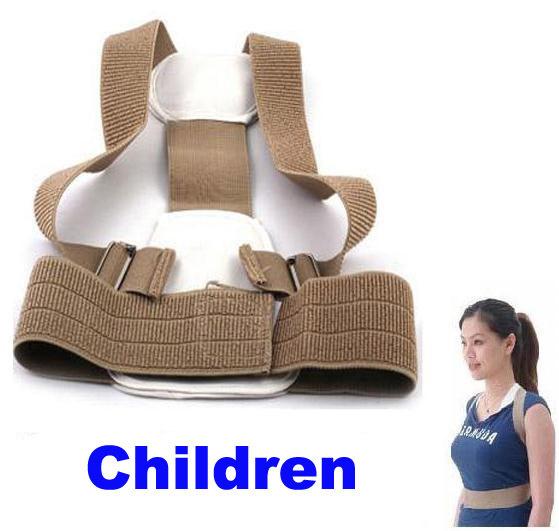 Child humpbacks Braces belt Posture corrector,slouch correction,orthosis back support Back posture correction belt For Children(China (Mainland))