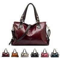 Women's Messenger Bags Luxury PU Leather Portable Shoulder Crossbody Handbag