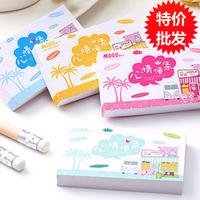 Korea stationery cartoon note pad mini memo pad color page 50al