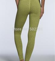 Luxury design pants for yoga solid color Green Running pants legging Spandex pant Lycra Legging 120 pcs/lot