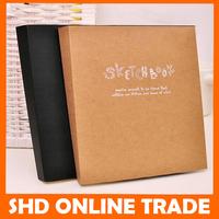 2015 sale of stationery agenda blank paper notebook thickness Livros Caderno escolar Bloco de Notas sketch sketchbook art book