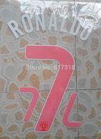 free shipping PINK Portugal RONALDO #7 name numbering individuation name numbering