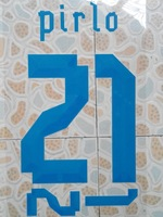 free shipping 2013-2014 ITALY away PIRLO #21 name numbering individuation name numbering