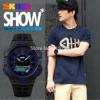 Free shipping 2015 fashion casual Men Personality watch Multifunctional waterproof Digital Electronic Wristwatches 5 colors--mnh