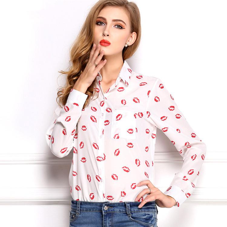 Женские блузки и Рубашки IMIXBOX STYLE 2015 s/xl W4152 блузки и рубашки