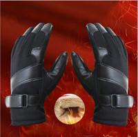 2015 New Motorcycle Gloves Antiskid, Winter Men's Snowboard Head Skiing Gloves Motorcycle Riding Sports Antiskid Outdoor + Gift