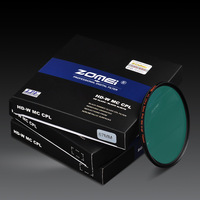 HD Schott B270 Glass 18 layers coating Polarizer(PL) Filter