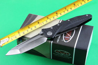 TOP Quality! Microtech Tactical Folding Knives,D2 Blade G10 Handle Sanding Outdoor Hunting Knife,Survival Tools.