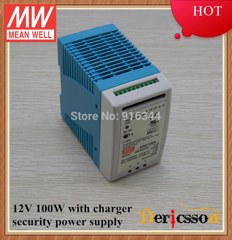 Импульсный блок питания MEAN WELL 100 100w 12v DRC-100A импульсный блок питания mean well 100 100w 12v drc 100a