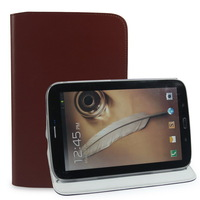 2014 Hot Selling Business Style Genuine Leather Case for Samsung Galaxy Note 8 Note 8.0 N5100 N5110,free shipping