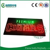 Cheap custom beautiful design cigars usage led open sign /led acrylic sign/led store decoration sign/Electronic panel