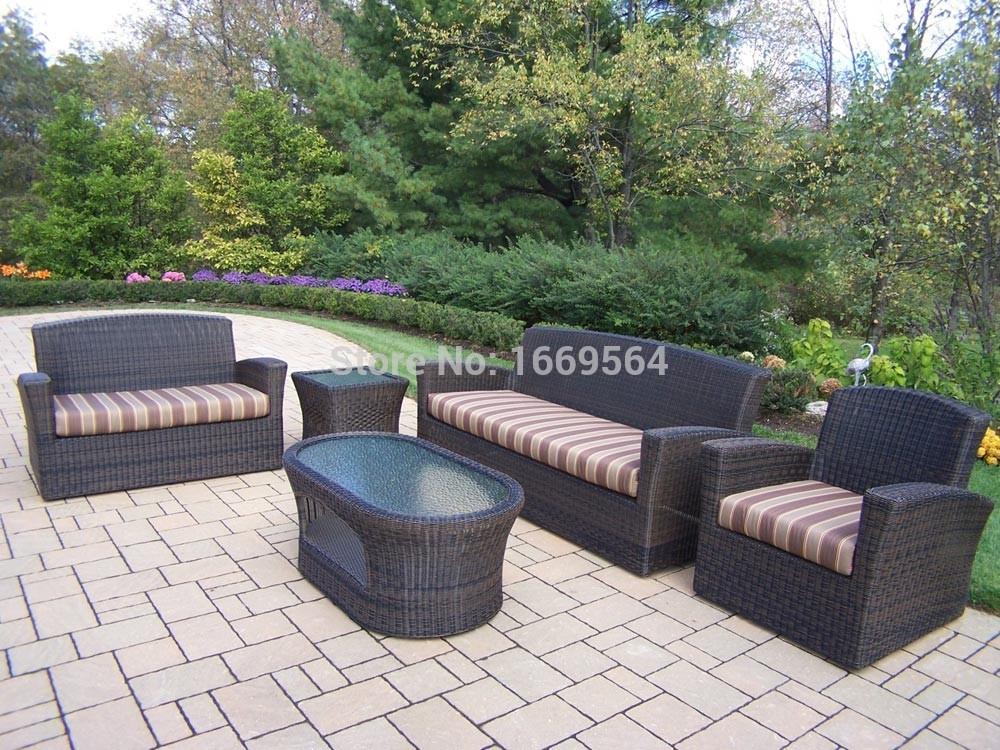 2015 Hot selling oval rattan sofa(China (Mainland))