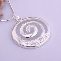 Wholesale 925 Silver Necklaces 925 Silver Fashion Jewelry,Whirlwind  Necklace Best Service SMTN540