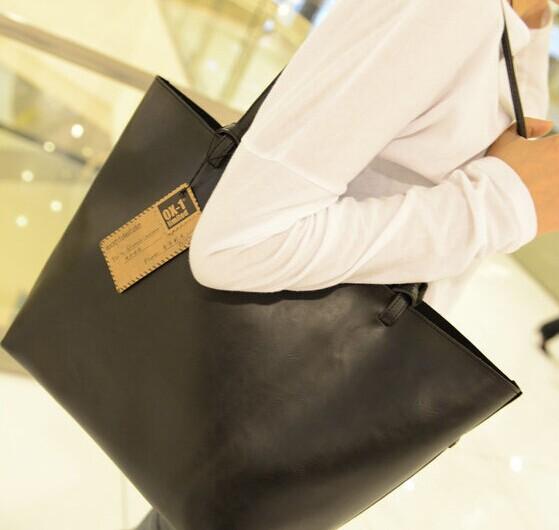 New Fashion Designer 2015 Women Bandbag Brand Leather Handbag Ladies Clutches Shoulder Bag(China (Mainland))