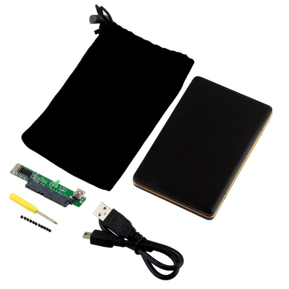 """1pcs Hot Worldwide 2.5"""" USB 2.0 SATA HARD DISK DRIVE HDD CASE ENCLOSURE(China (Mainland))"""