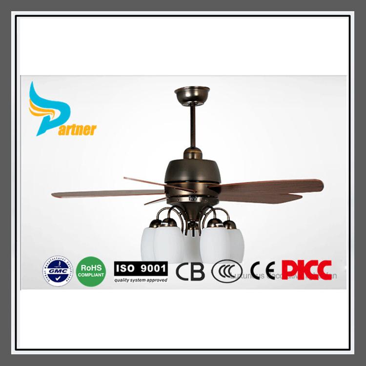 Partner 2015 New Design Ceiling Light Fan Modern Energy-saving Quite Fan Home Decorative Lighting Bedroom 46''/115cm 46-YJ212(China (Mainland))