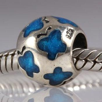 100% 925 pandora & 0604 кольцо pandora 925 silverring charm