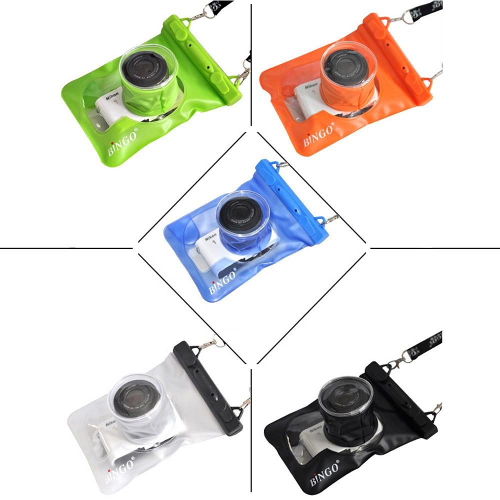 Hot sale! Bingo Professional 20m Waterproof camera Bag Underwater Waterproof Case for Nikon Sony ILDC Digital Camera(China (Mainland))