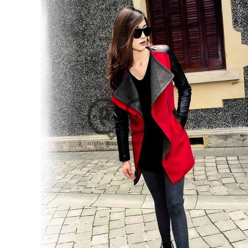 Женская одежда из кожи и замши Brand New s/xl ZLY245 женская одежда из кожи и замши oem s m l xl
