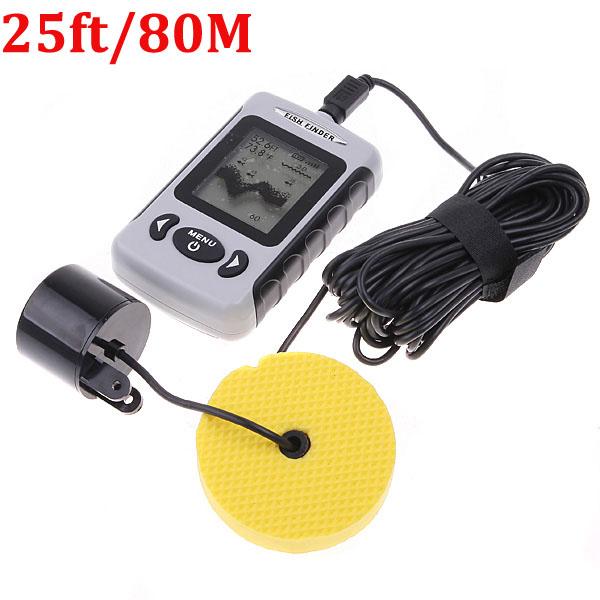 Рыболокатор 245/80 Finder LCD FF718 эхолот lucky ff718 скат луч