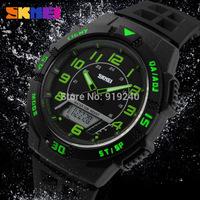 Free shipping 2015 fashion casual Men Personality watch Multifunctional waterproof Digital Electronic Wristwatches 5 colors--koi