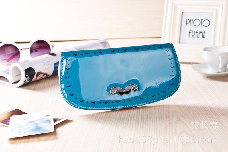 2015 Top Coin Pocket Wallets Carteira Masculina New Korean Long Beard Zip Wallet Purse Handbag Bag Phone Manufacturers Wholesale(China (Mainland))
