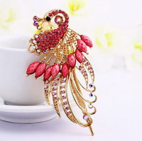 Originality Convenient Peacock Style Headwear New Fashions Crystal Glass Hair Accessories For Women Wedding Party Banquet