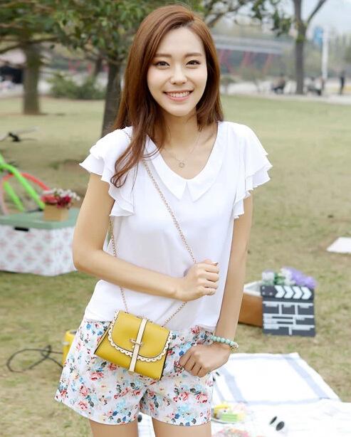 2015 Special Offer Promotion Long Women Wallets Summer Diagonal Packet Wholesale Korean Shoulder Bag Ladies Mini Wallet Purse(China (Mainland))
