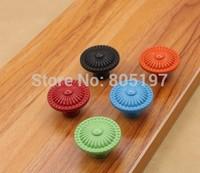 Single hole ,Furniture knobs ,Cabinet handle zinc alloy knob children knob  10pcs/Lot