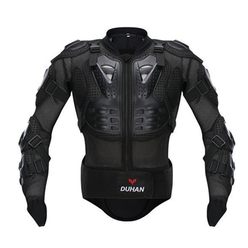 DUHAN Professional Motorcycle Riding Body Prtection Motorcross Racing Full Body Armor Spine Chest Protective Jacket Gear Guards(China (Mainland))