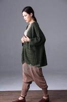 2015 New women Big yards pure color art v-neck bat sleeve loose slim fashionable cardigan sweater