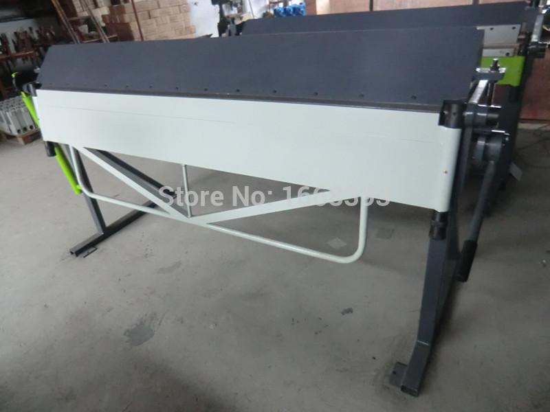 WF2500*1.0mm hand brake sheet metal brakes bending folding machinery tools(China (Mainland))