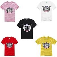 Summer 2015 Women Tops K POP Super Junior Korean Fashion Clothing Pink/red/yellow Tshirt