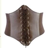 Knitted women's wide  cummerbunds  elastic wide brand belt  for women