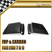 For Mitsubishi Evolution EVO 7 8 9 Carbon Fiber Under Rear Diffuser Vortex Addon 2pcs Pair