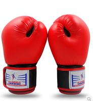 2015 Limited Male Kick Boxing Guantes De Boxeo New Arrival Kangrui Boxing Gloves Professional Sandbag Sandbagged Adult Sanda