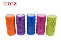 Genuine TTCZ 8 Color 33x14cm EVA Yoga Gym Pilates Fitness Exercise Foam Roller Massage Training Trigger Point Free Shipping
