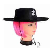 Halloween fun party supplies cosplay adult children's Zorro hat + goggles