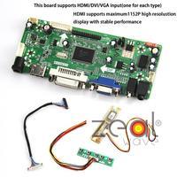 For HSTND-2L05 HDMI+DVI+VGA+AUDIO LCD/LED Screen DIY Universal Controller Board Monitor Kit
