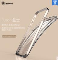 BASEUS phone CASE for iPhone6 4.7inch Metal frame + TPU anti-knock case 1PCS metal mobile phone case  free shipping