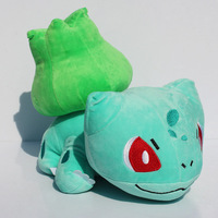 Retail 9.5inch 24cm Pokemon plush Toy Bulbasaur With Tag Soft Dolls best Gift For pokemon fans Free Shipping