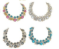 2014 NEW hot sale ZA fashion necklace collar Necklaces Pendants statement necklace choker Necklaces jewelry for women